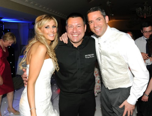 DJ Paul Burton Hosting Wedding Event