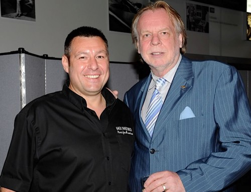 Rick Wakeman at Back Track Disco Event